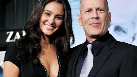 Bruce Willis and his wife, model-turned-designer Emma Heming-Willis,