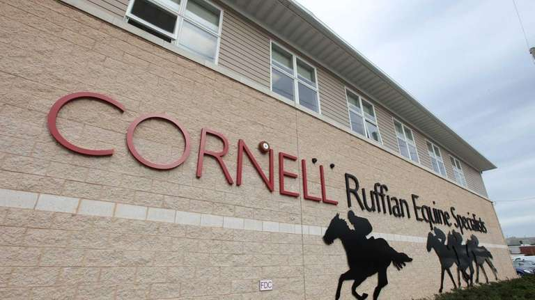 The exterior of the Cornell Ruffian Equine Specialists