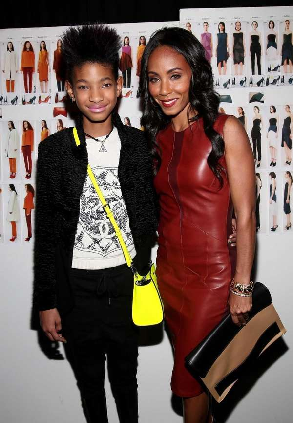 Willow Smith and her mother Jada Pinkett Smith