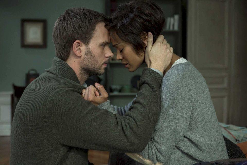 Patrick J. Adams and Zoe Saldana star in