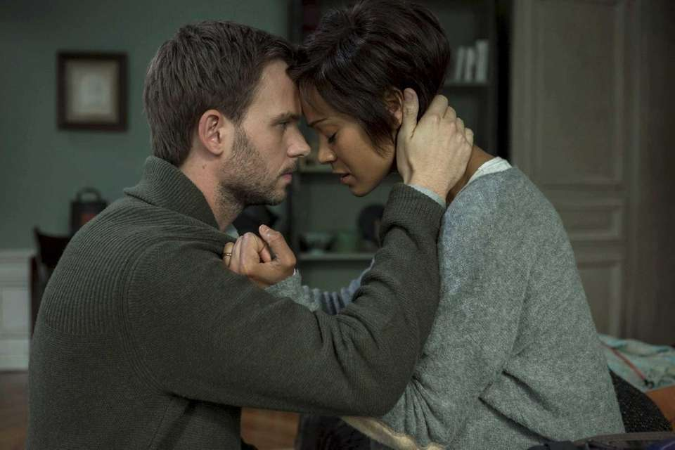 Patrick J. Adams and Zoe Saldana star in