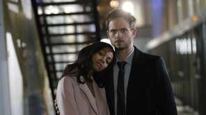 Zoe Saldana and Patrick J. Adams star