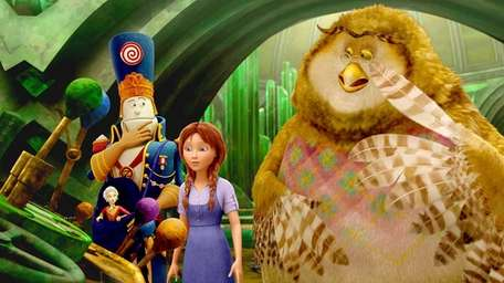 Dorothy returns to Oz in the animated