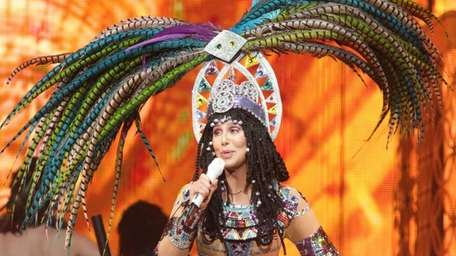 Cher performs in concert during her Dressed to