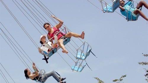 You know that the coolest amusement park