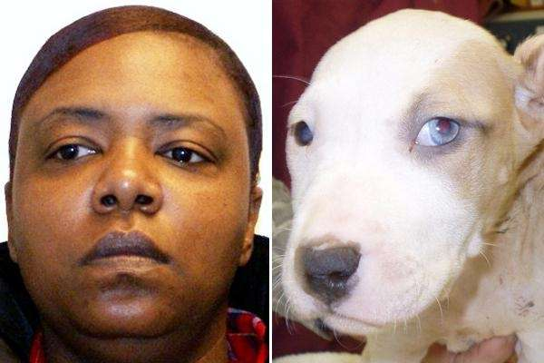 Shawanna Hughes, 37, of Oyster Bay, whose dog