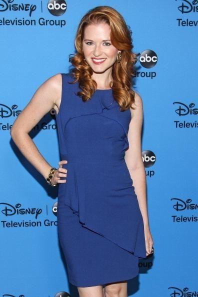 "Sarah Drew of ABC's ""Grey's Anatomy"" stars in"