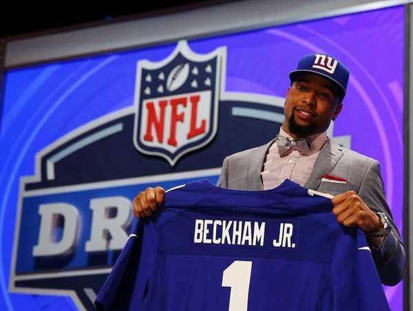 Odell Beckham Jr. of the LSU Tigers poses