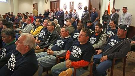 Hundreds of people attended a meeting Thursday, May