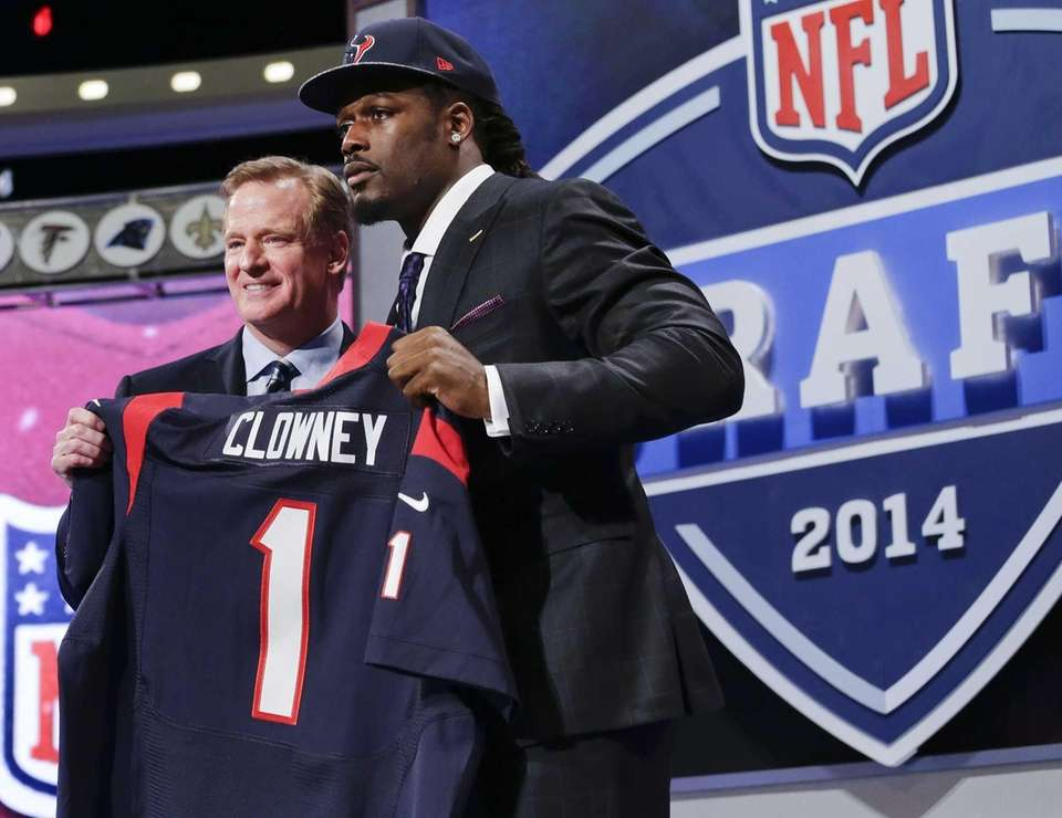 2014: JADEVEON CLOWNEY, DE, Houston Texans Clowney appeared