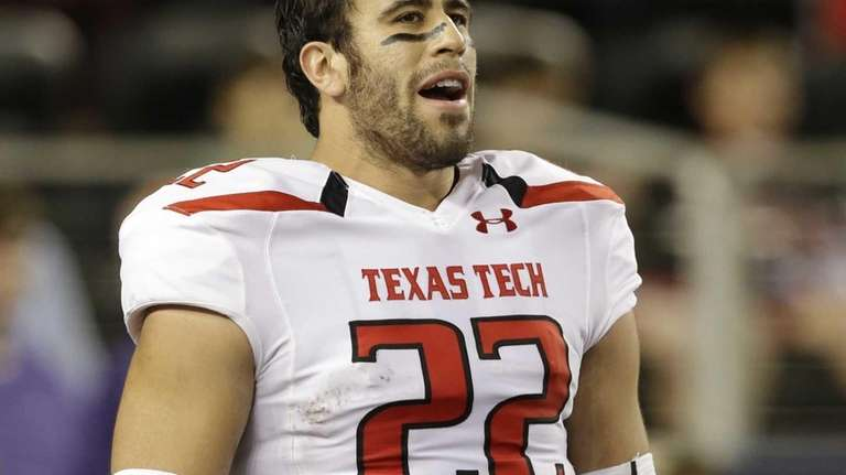 Texas Tech tight end Jace Amaro during warms