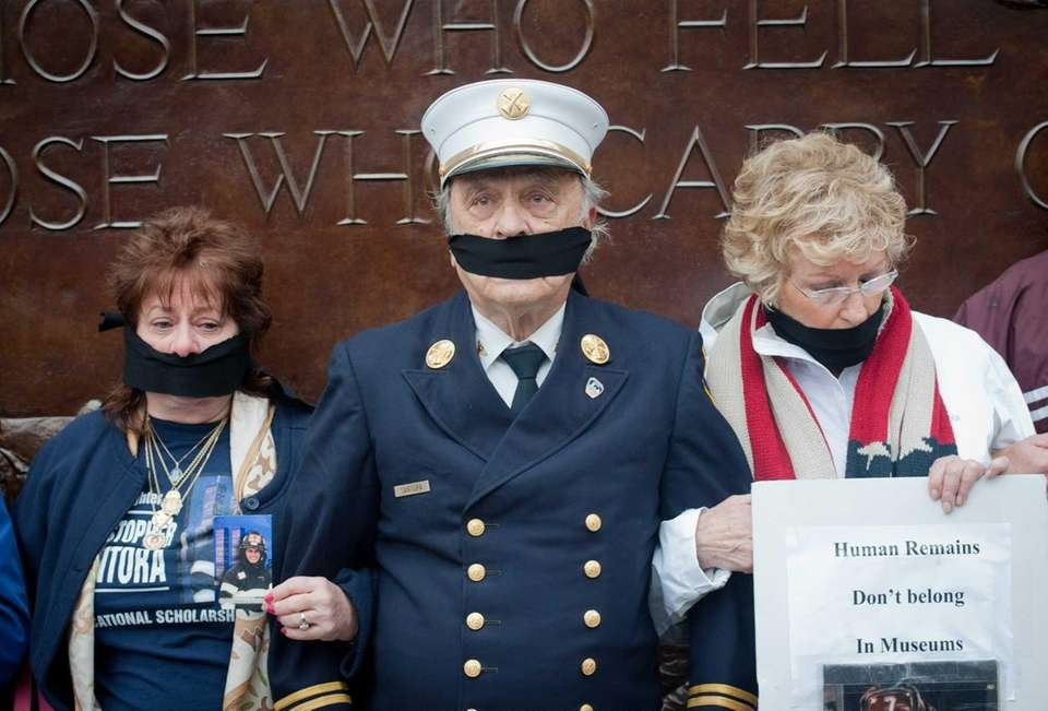 The families of some 9/11 victims, including retired