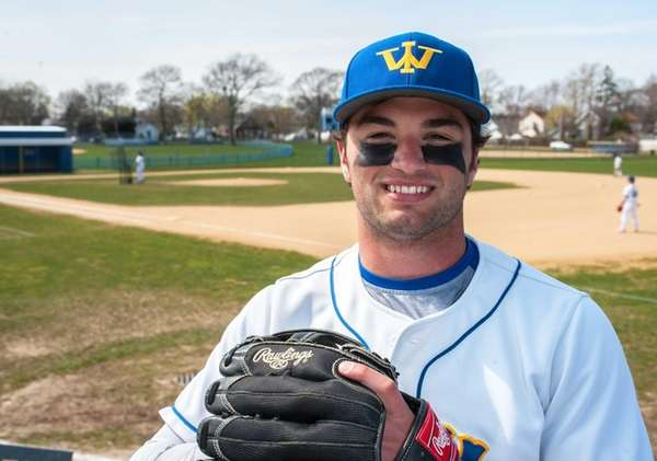 West Islip's Sam Ilario poses before a game