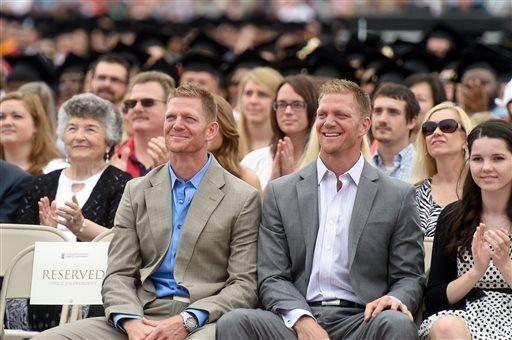 Liberty University alumni twins David and Jason Benham