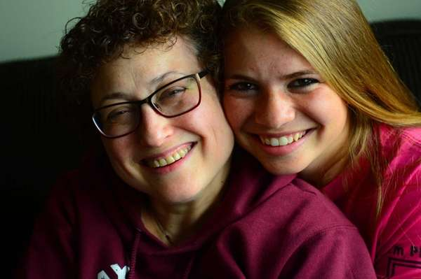 17 year-old Peri Eckhoff with her mom, Ila