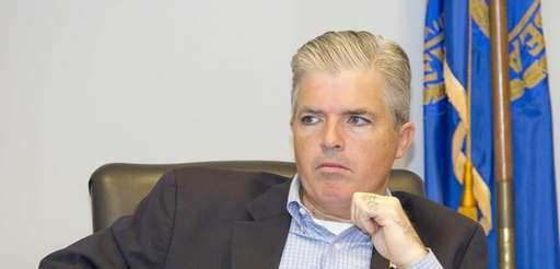 Suffolk County Executive Steven Bellone at a meeting