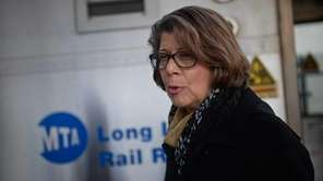 MTA Long Island Rail Road president Helena Williams