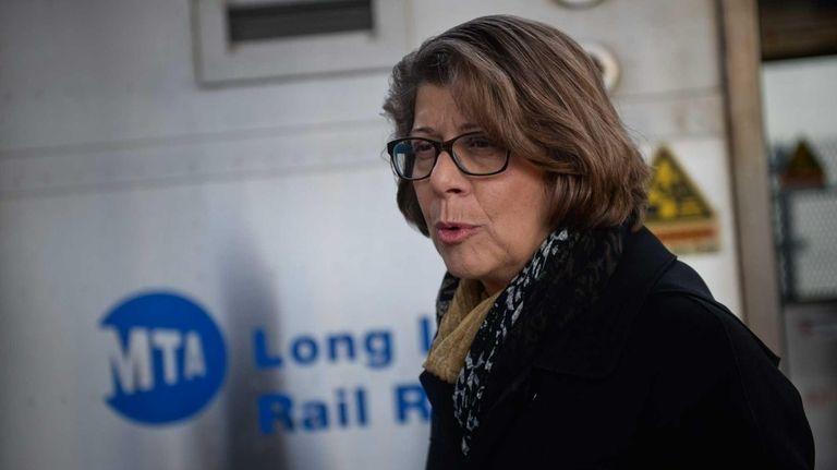 MTA Long Island Rail Road president Helena Williams