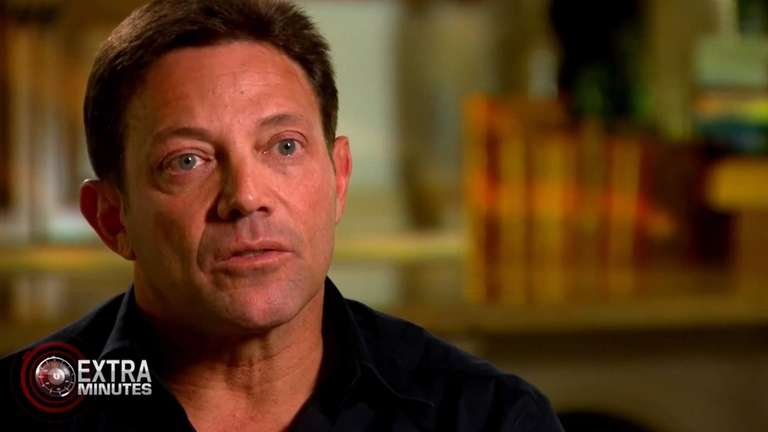 "Jordan Belfort, the real-life ""Wolf of Wall Street,"""