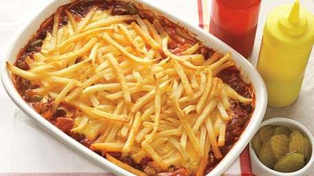 The Cheeseburger and Fries Casserole can be found