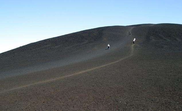 At Craters of the Moon National Monument &