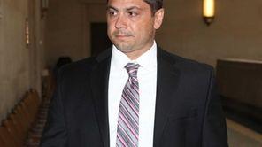 Former Nassau police officer Michael Tedesco, on Wednesday,