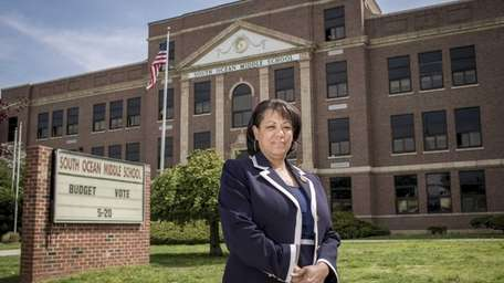 Donna Jones, assistant superintendent of business of Patchogue-Medford
