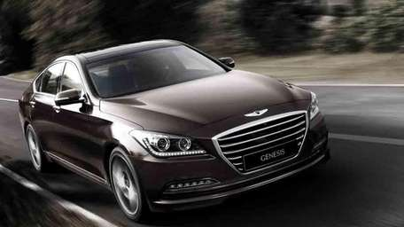 The 2015 Hyundai Genesis.