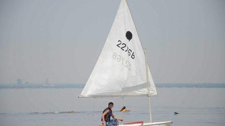 Ascher Werz, 17, of Sea Cliff, is one