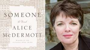 Author Alice McDermott and the cover for her