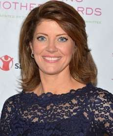 "Norah O'Donnell, co-host of ""CBS This Morning"" was"