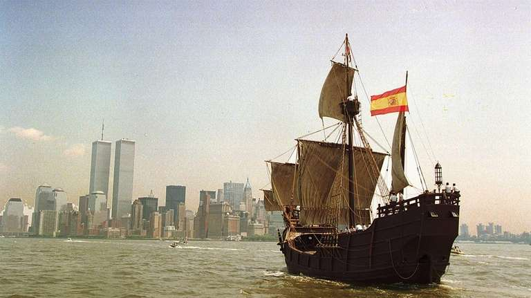 An authentic replica of Christopher Columbus' ship, the