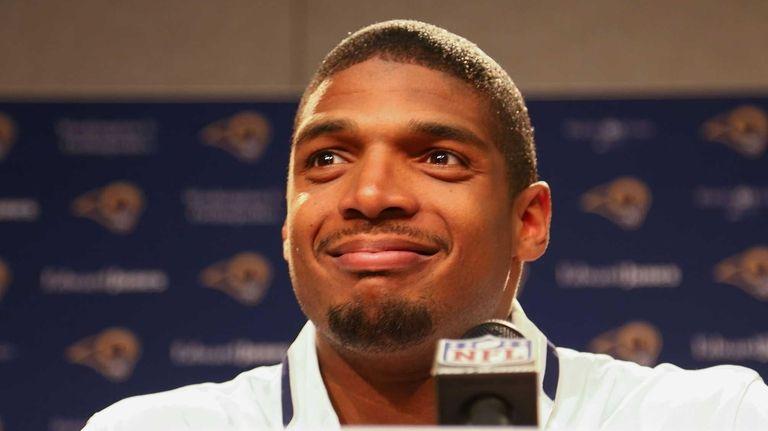 St. Louis Rams draft pick Michael Sam addresses
