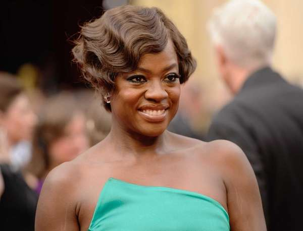 Viola Davis at the Oscars in Los Angeles