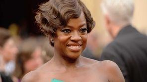 Viola Davis at the Oscars in Los Angeles