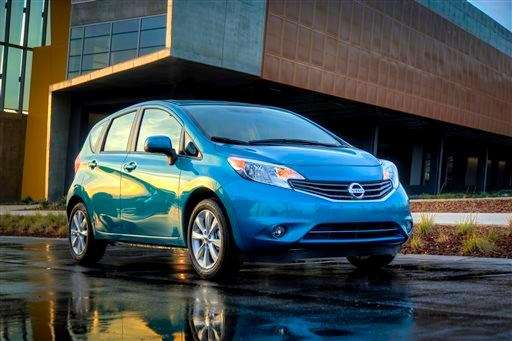 The five-seat 2014 Nissan Versa Note is a