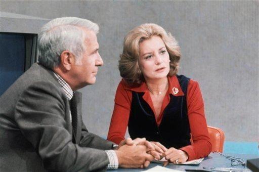 Barbara Walters and Harry Reasoner anchor