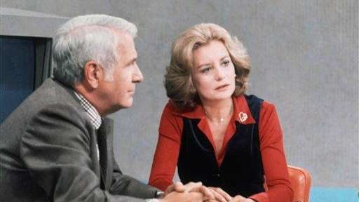Barbara Walters and Harry Reasoner anchor