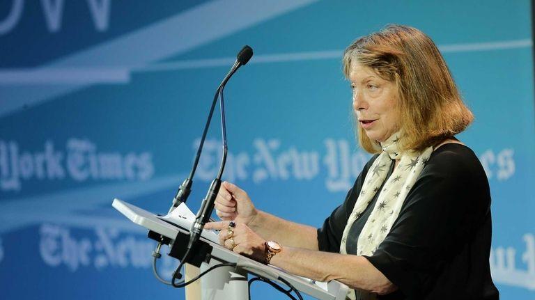 New York Times executive editor Jill Abramson, seen