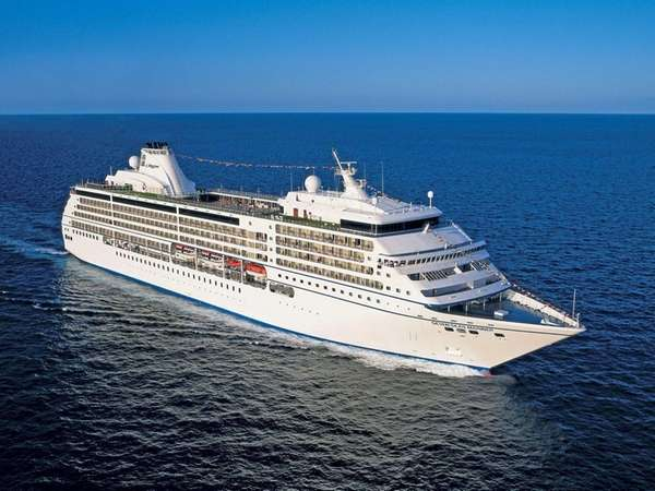 The luxury Regent Seven Seas Mariner is the