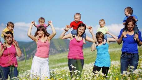Sixty-three percent of moms said they have scheduled