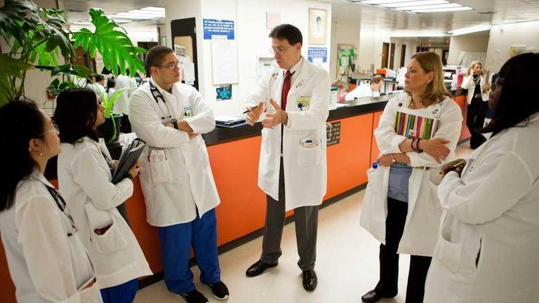 Dr. Steven Walerstein, chief medical officer at Nassau