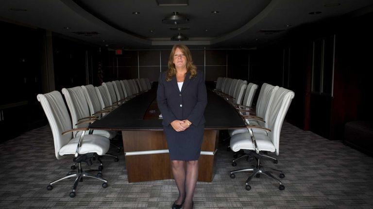 Nancy Leonard, senior operations administrator at Empire National