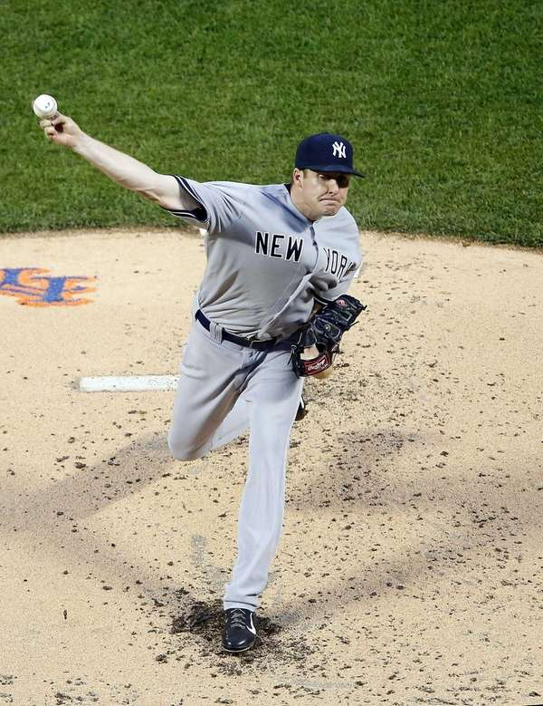 Chase Whitley of the Yankees pitches in the