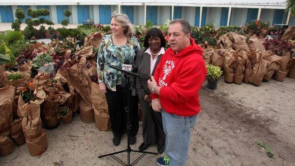 Nassau Legislator Denise Ford, Hempstead Councilwoman Dorothy Gooseby