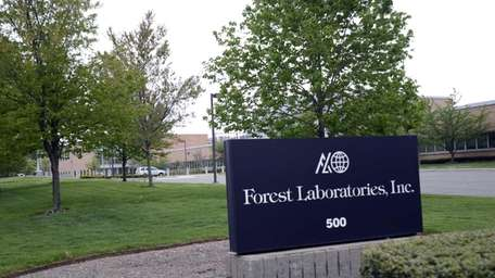 Forest Laboratories Inc. in Commack on May 15,