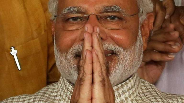 The Bharatiya Janata Party's candidate for prime minister,