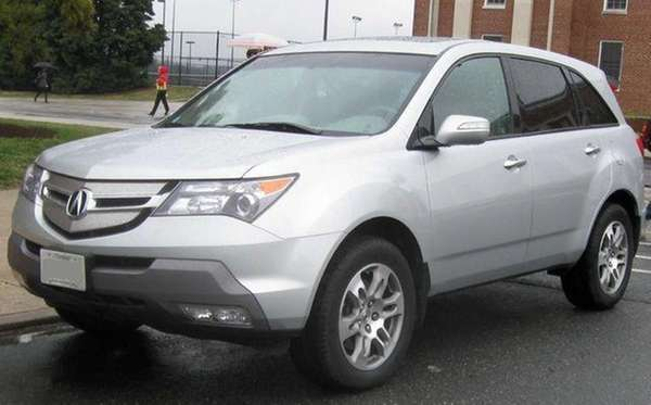 A 2007-2009 Acura MDX photographed in College Park,