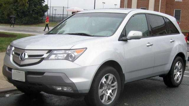 A 2007 2009 Acura Mdx Photographed In College Park