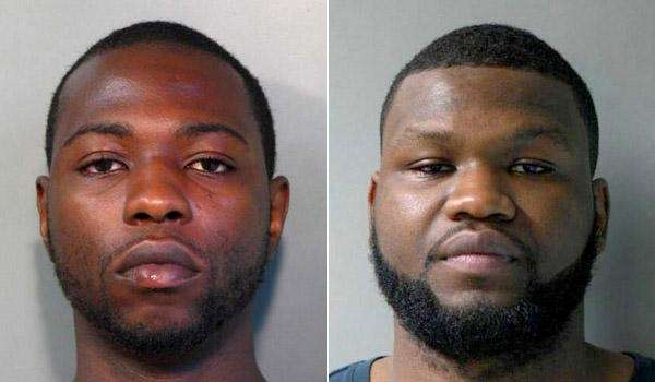 Leonel Volcy, 27, left, and Yvenel Fede, 19,
